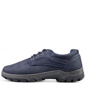 Tъмно сини мъжки ежедневни обувки Marimo в online магазин Fashionzona