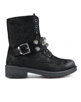 Черни дамски ежедневни боти Jaicee в online магазин Fashionzona