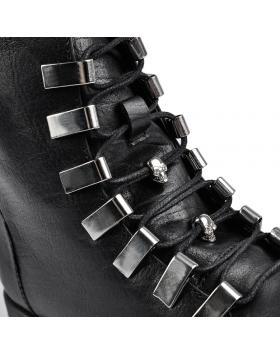 Черни дамски ежедневни боти Cericia в online магазин Fashionzona