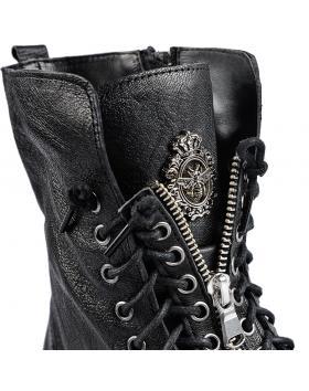 Черни дамски ежедневни боти Malavika в online магазин Fashionzona