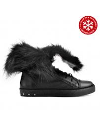 Черни дамски ежедневни боти с топъл хастар Scirocco в online магазин Fashionzona