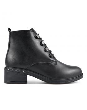 Черни дамски ежедневни боти 0136179 в online магазин Fashionzona