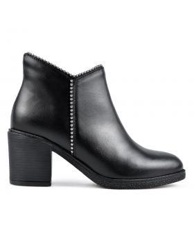 Черни дамски елегантни боти 0136167 в online магазин Fashionzona