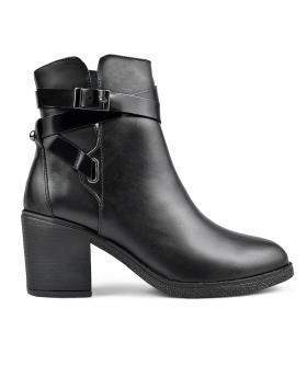 Черни дамски елегантни боти 0136165 в online магазин Fashionzona