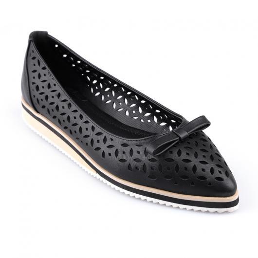 Черни дамски ежедневни обувки Lyla