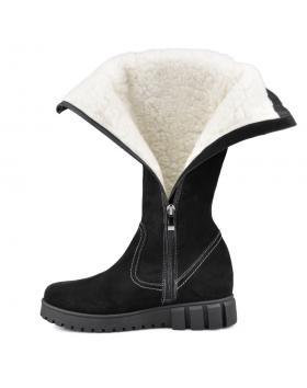 Черни дамски ежедневни ботуши Xavier в online магазин Fashionzona