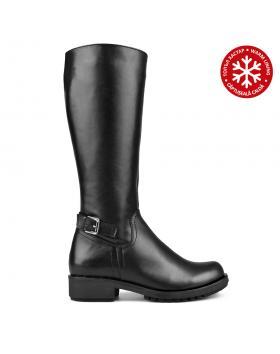 Черни дамски ежедневни ботуши 0136387 в online магазин Fashionzona