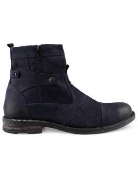 Сини мъжки ежедневни боти 0126006 в online магазин Fashionzona