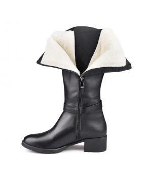 Черни дамски ежедневни ботуши Misty в online магазин Fashionzona