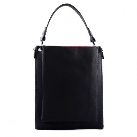 Черна дамска ежедневна чанта Allyce