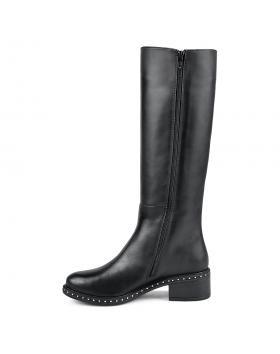 Черни дамски ежедневни ботуши Karlotta в online магазин Fashionzona