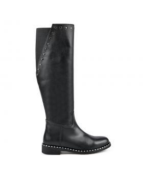 Черни дамски ежедневни ботуши 0136155 в online магазин Fashionzona