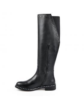 Черни дамски ежедневни ботуши Juhi в online магазин Fashionzona