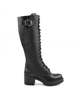 Черни дамски ежедневни ботуши Aparajita в online магазин Fashionzona