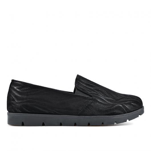 Черни дамски ежедневни обувки 0135149