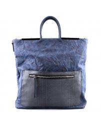 Синя дамска ежедневна чанта Milagritos в online магазин Fashionzona