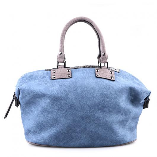 Синя дамска ежедневна чанта Prudencia
