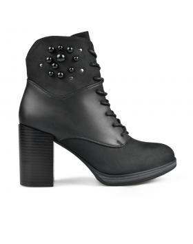 Черни дамски елегантни боти Evelynne в online магазин Fashionzona