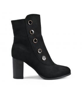 Черни дамски елегантни боти Ciri в online магазин Fashionzona