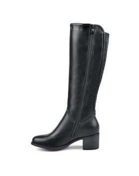 Черни дамски ежедневни ботуши Oralia в online магазин Fashionzona