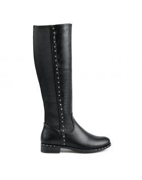 Черни дамски ежедневни ботуши 0135303 в online магазин Fashionzona