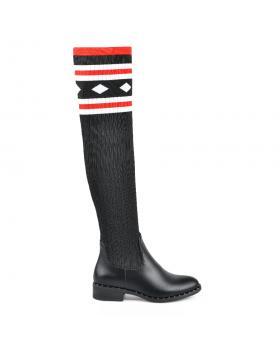 Черни дамски ежедневни ботуши 0135244 в online магазин Fashionzona