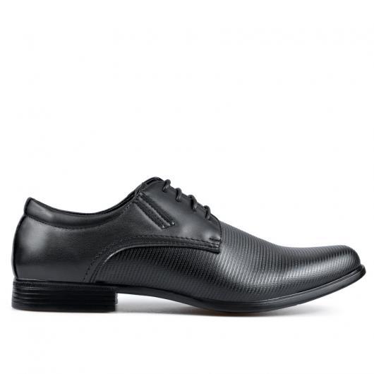 Черни елегантни мъжки обувки Norberto