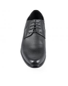 Черни елегантни мъжки обувки Norberto в online магазин Fashionzona