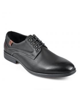 Черни елегантни мъжки обувки Joselito в online магазин Fashionzona