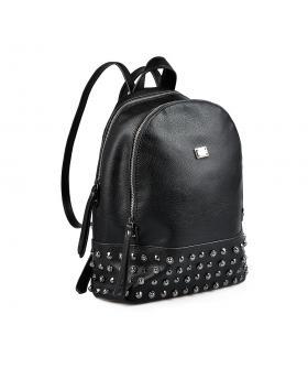 Черна дамска раница 0135395 в online магазин Fashionzona