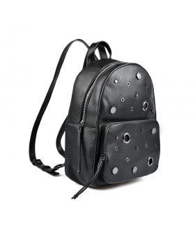 Черна дамска раница 0135386 в online магазин Fashionzona