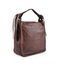Кафява дамска ежедневна чанта Candelaria