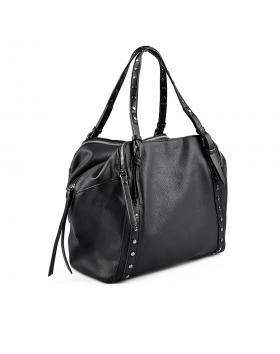 Черна дамска ежедневна чанта 0135420 в online магазин Fashionzona