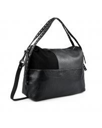 Черна дамска ежедневна чанта 0135418