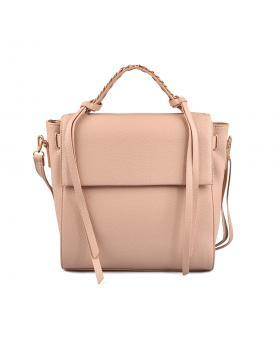 Бежова дамска ежедневна чанта Nakia в online магазин Fashionzona