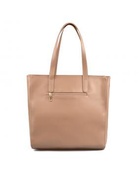 Бежова дамска ежедневна чанта 0136105 в online магазин Fashionzona