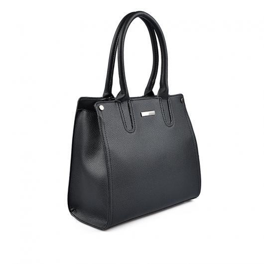 Черна дамска ежедневна чанта Santana