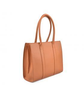 Кафява дамска ежедневна чанта 0136124 в online магазин Fashionzona