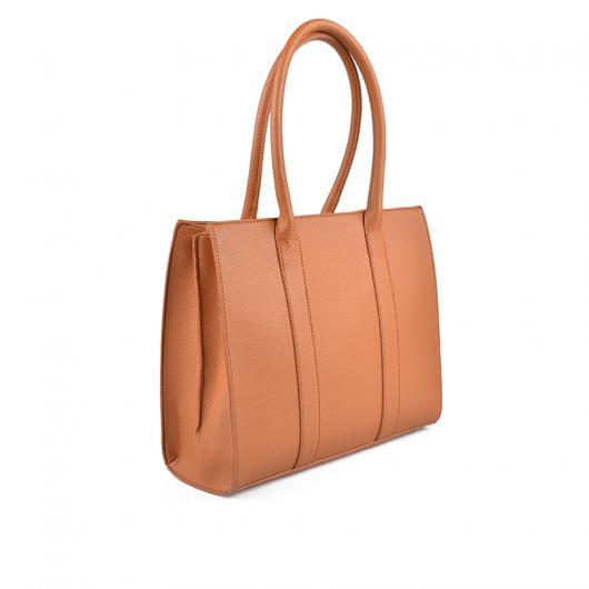 Кафява дамска ежедневна чанта Chandrika