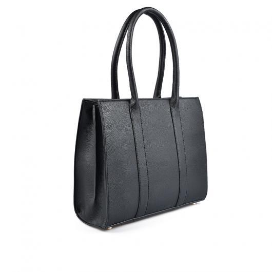 Черна дамска ежедневна чанта Emery