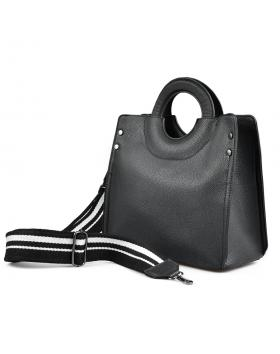 Черна дамска ежедневна чанта 0136102 в online магазин Fashionzona