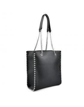 Черна дамска ежедневна чанта 0136096 в online магазин Fashionzona