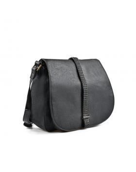 Черна дамска ежедневна чанта 0135437 в online магазин Fashionzona