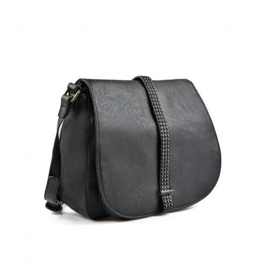 Черна дамска ежедневна чанта Mamie