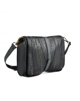 Черна дамска ежедневна чанта 0135439 в online магазин Fashionzona