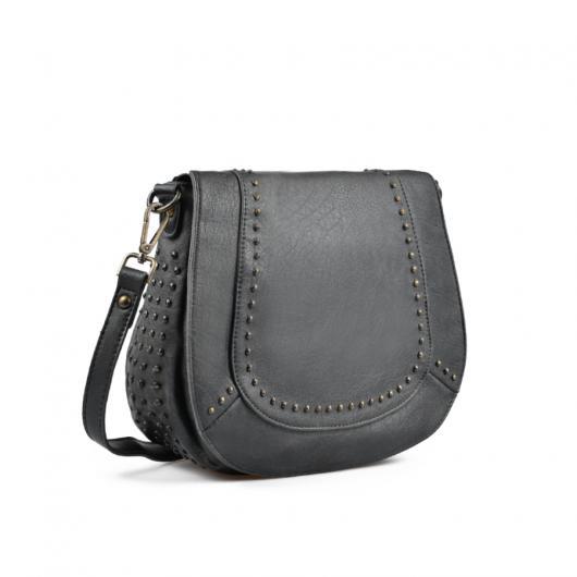 Черна дамска ежедневна чанта 0135441