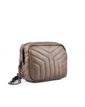 Кафява дамска ежедневна чанта Lucy в online магазин Fashionzona