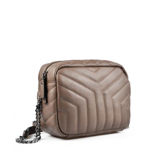 Кафява дамска ежедневна чанта Lucy