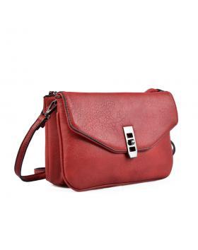 Червена дамска ежедневна чанта 0135434 в online магазин Fashionzona