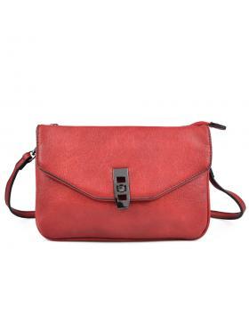 Червена дамска ежедневна чанта Mali в online магазин Fashionzona